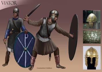 Constantine's Soldiers by RobbieMcSweeney