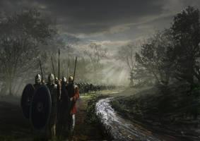 Constantin's army by RobbieMcSweeney
