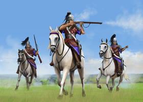 Elavorian Cavalry by RobbieMcSweeney