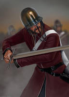Cevadothian Swordsman by RobbieMcSweeney
