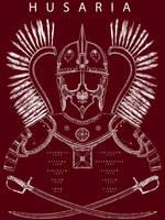 Polish Winged Hussar T-shirt Design by RobbieMcSweeney