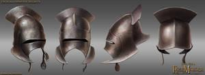 Uruk-Hai helmet by RobbieMcSweeney