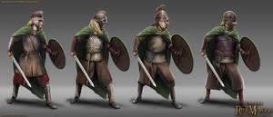 Rohan Sword Thegns by RobbieMcSweeney