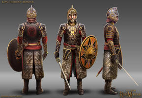 King Theoden Armour by RobbieMcSweeney