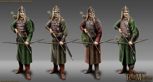 Rohan Mustered Archers by RobbieMcSweeney