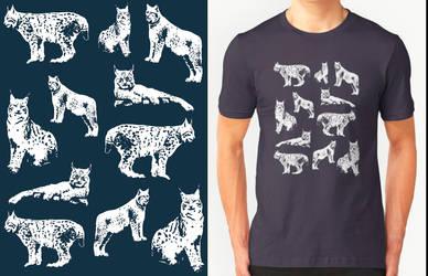 Lynx T-shirt Design by RobbieMcSweeney