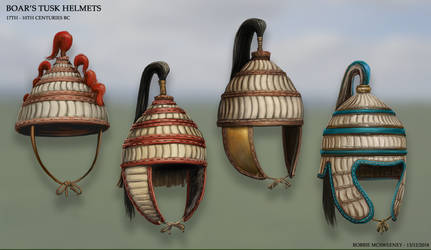 Boar's Tusk Helmets by RobbieMcSweeney