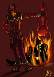 14 Pyromaniac~ 30-Day Madness Challenge by Foolish-Hearts