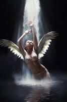 Fallen Angel by dphoenix07