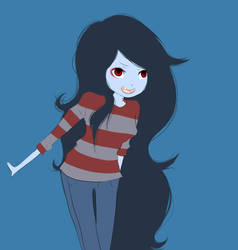 marceline, adventure time by Maruta-chan6