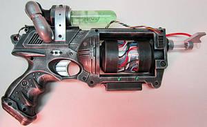 Ghostbusters Proton Pistol by firebladecomics