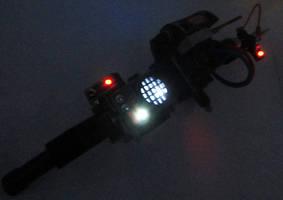 Ghostbusters Proton Rifle by firebladecomics