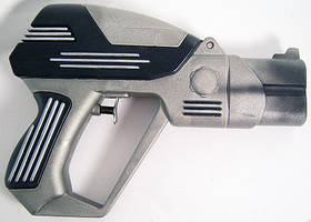 Star Trek Phaser Pistol by firebladecomics