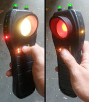 Custom Ghostbusters PKE Meter version 14 by firebladecomics