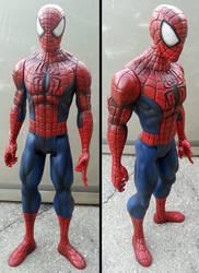 Custom Marvel Titan Hero Series Spider-man by firebladecomics