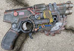 Fallout / Borderlands style Nerf CrossCut Gun by firebladecomics