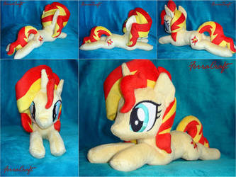 Sunset Shimmer plushie for Sale by FerraCraft