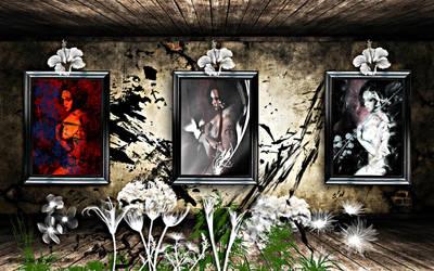 Triptych : Subtle Shapes by DeathOfATragedy