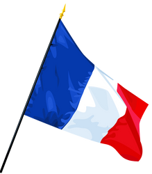 French Flag by Troyenne