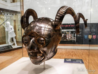 Horned Helmet at Royal Armouries by VickieDesigns