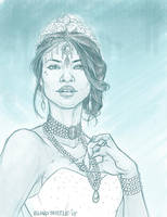 Queen Channary by blindthistle