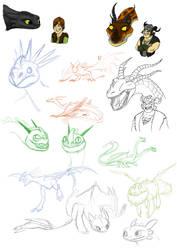 HTTYD: Dragons by Iceway