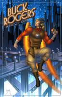 Buck Rogers Pinup by Teyowisonte