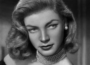 Lauren Bacall by jackkaminski