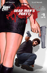 Dead Man's Party issue 2, cover by artguyNJ
