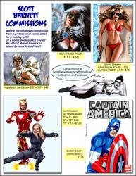 Commissions by Scott by artguyNJ
