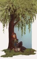 Commission: Ma'Lenna Lavellan by Nikranel