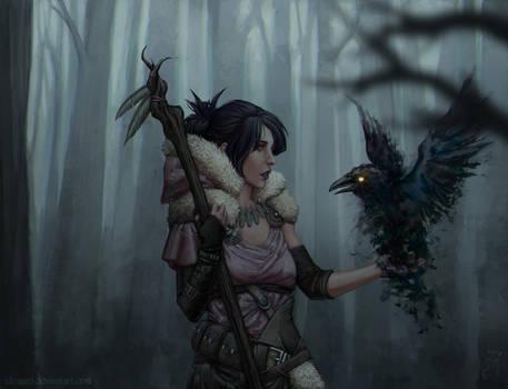 Morrigan by Nikranel