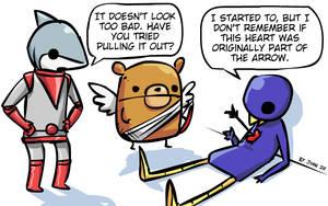 Happy Cardiac Archery Day by JohnSu