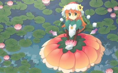 Flower Girl by JohnSu