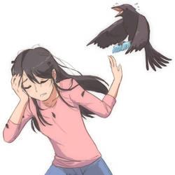 Crow Mom by JohnSu