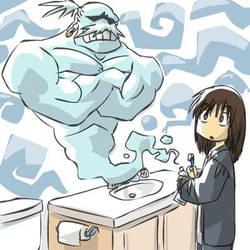 Toothpaste Genie by JohnSu