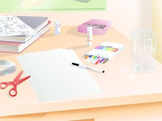 A Desk by JohnSu