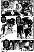 werewolf transformation 5 by Jessicawerecat