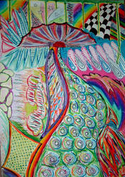 Dorothy on LSD by corruptedangel