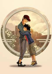 Hug by hachiko