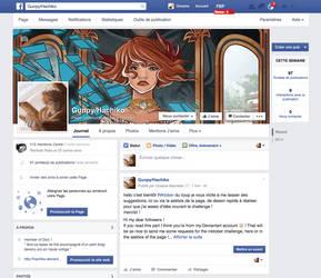 Facebook account and INKtober askbox ! by hachiko
