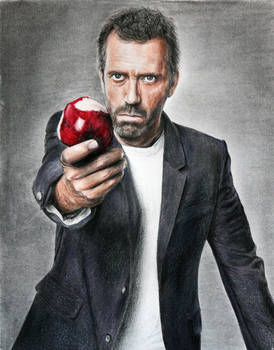 Hugh Laurie - House MD by DeniseEsposito