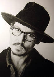 Johnny Depp by DeniseEsposito