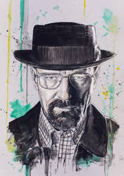 Walter White - Breaking Bad by DeniseEsposito