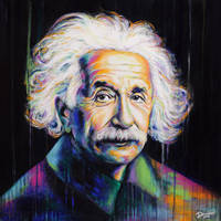 Albert Einstein by DeniseEsposito