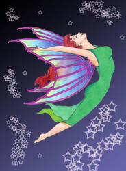 red fairy by TaMeNeGoSoMnUs
