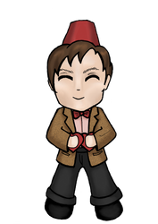 11th Doctor by bewareofninja