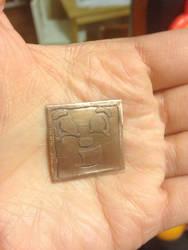 Tiny Metal Box Tim by bewareofninja