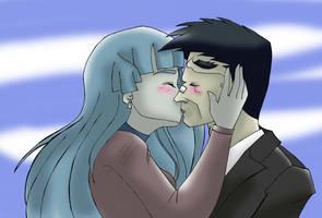 JCA OC Arlet x Ratso kiss by James-Li