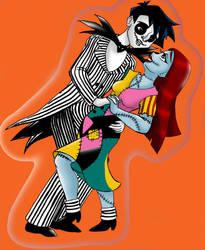 JCA OC - Li and Chow Halloween Cosplay by James-Li